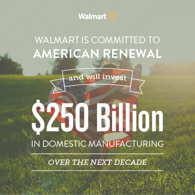 Walmart is Committed to American Renewal
