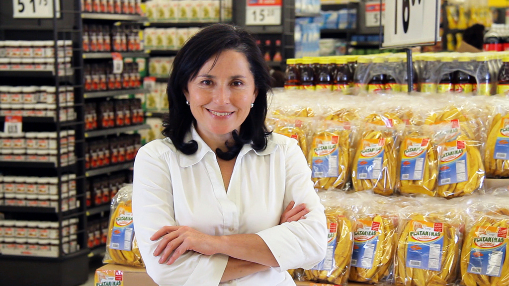 Leticia Hernandez started making gourmet fried plantains in her kitchen in Guatemala, and now she's a successful Walmart supplier with a growing business.