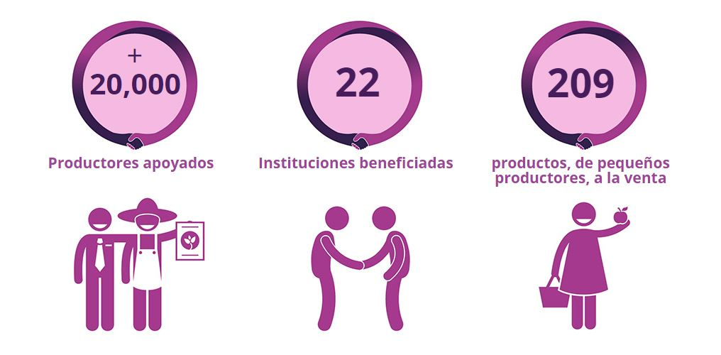 Pequeño Productor 2015 graphic