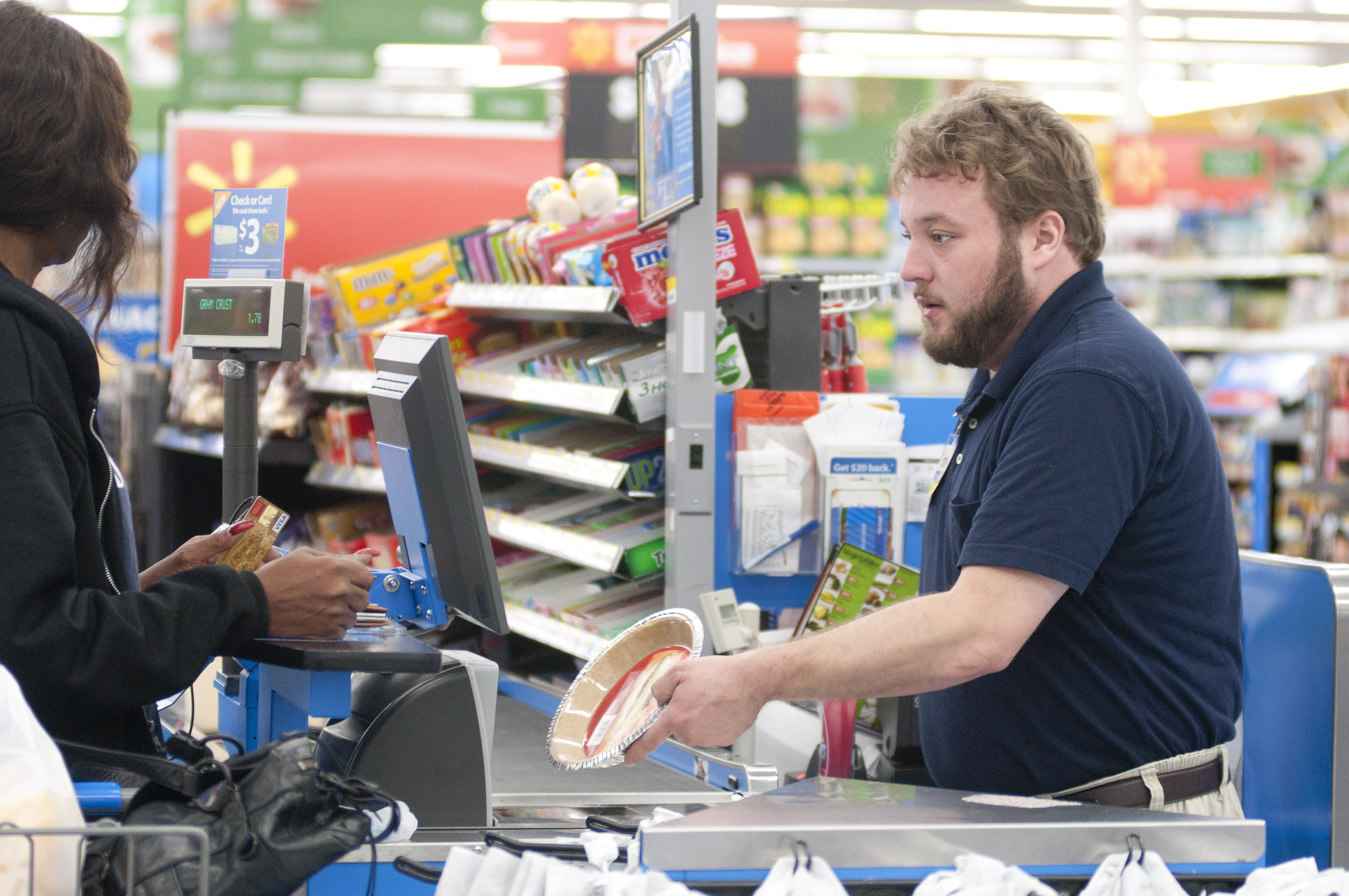 The Gallery For Gt Walmart Cashier
