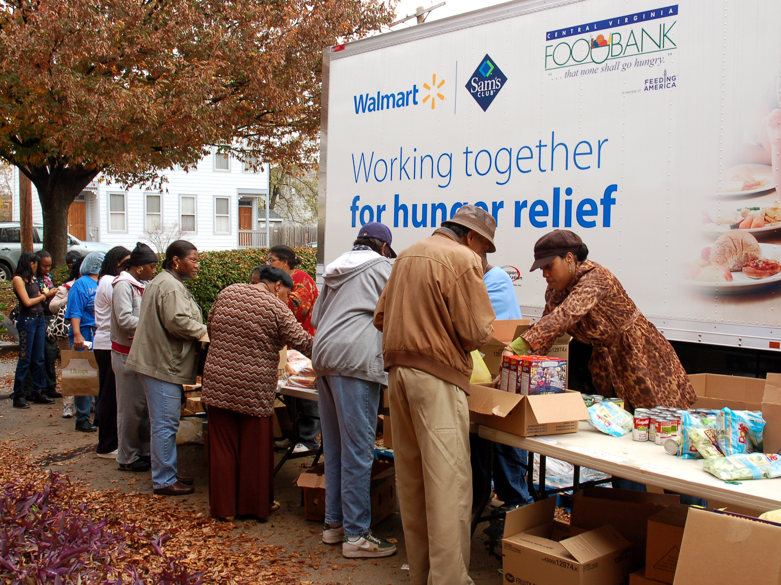 Central Virginia Mobile Food Pantry