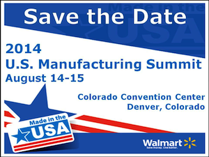 Save the Date 2014 Manufacturing Summit