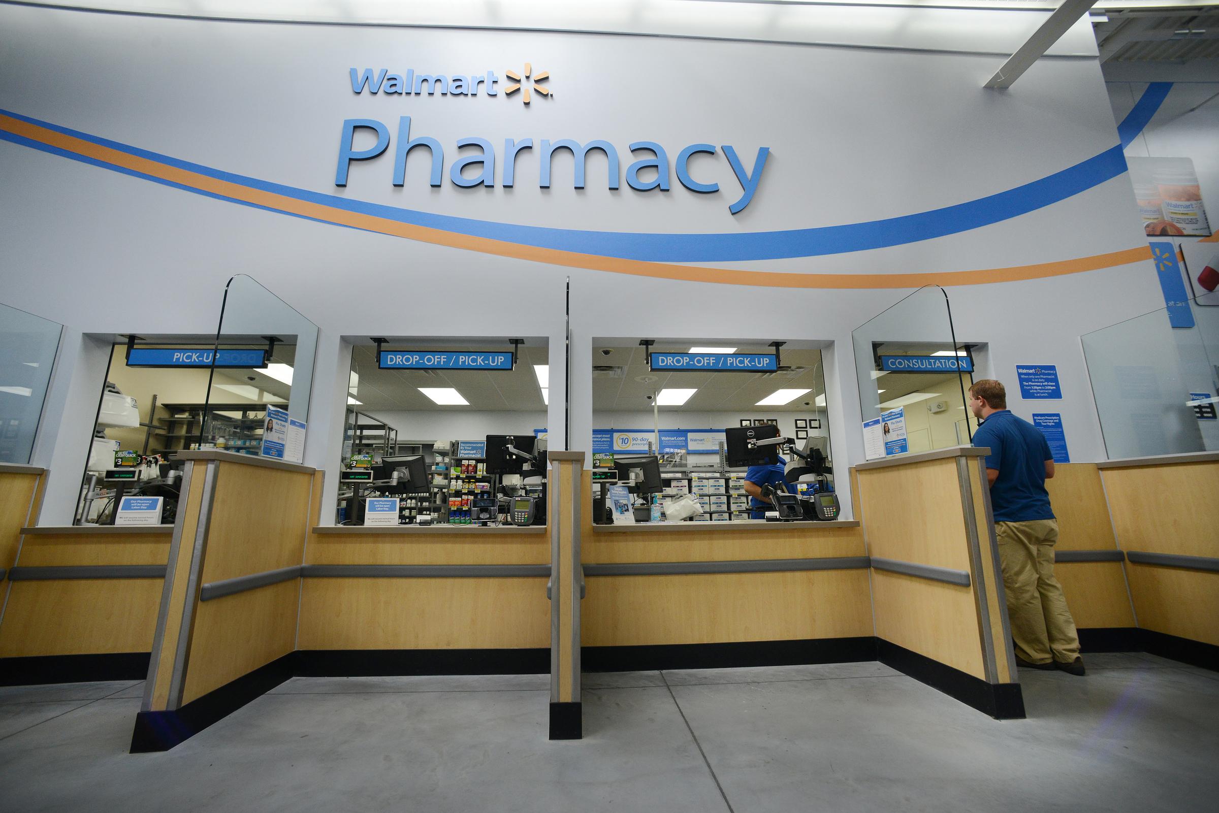 the walmart pharmacy offers quick  convenient prescription