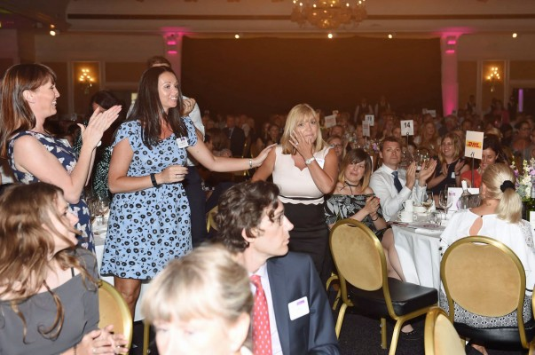 Julie McCaffery named Woman of the Year at the Everywoman Transport and Logistics Awards