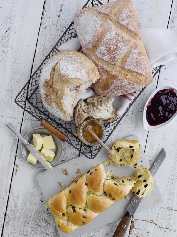 Some of the new Extra Special artisan bread range from Asda