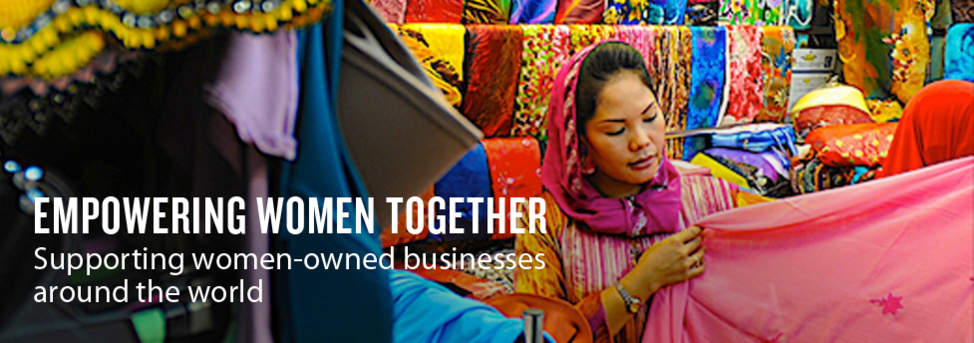 Empowering Women Together Banner
