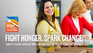 Fight Hunger. Spark Change. homepage banner