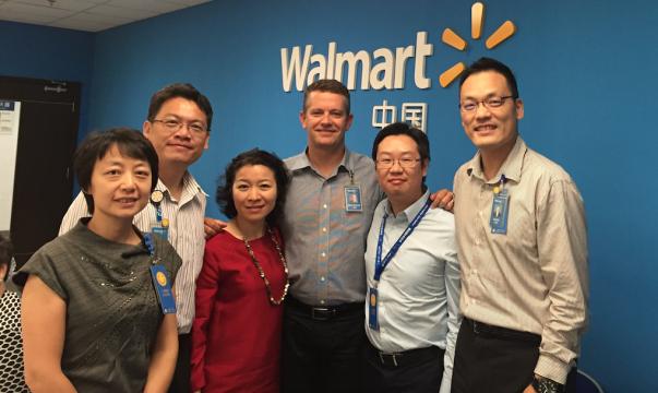 John Furner in Walmart China