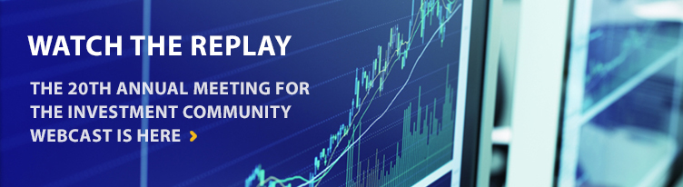 2013 Investment Meeting Replay banner hero image