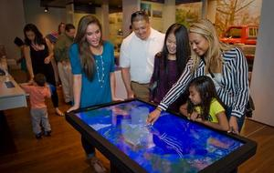 Visitor Center Touch Table