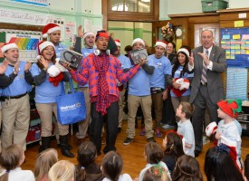 Walmart, the Today Show and Nick Cannon bring the music back to students