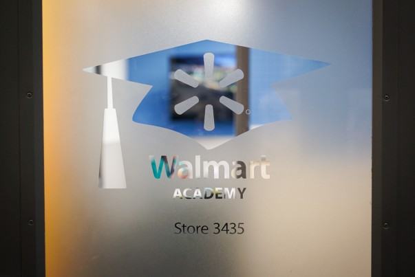 Walmart Academy Entry Door