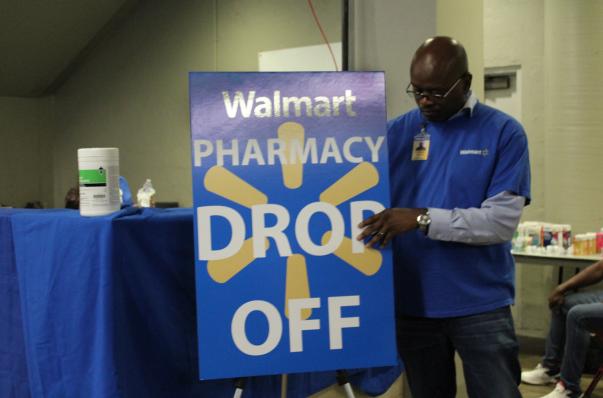 Walmart Pharmacy Drop Off Photo - Hurricane Harvey