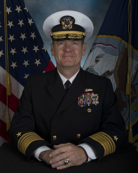Navy Reserve Officer Luke McCollum head shot