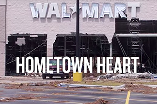 """Image reads """"Hometown Heart"""""""