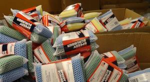Speedy Scrubber pads in box