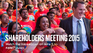 Text reads: Shareholders Meeting 2015. Watch the live webcast on June 5 >> #WMTShares
