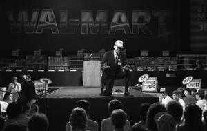 Sam Walton at Shareholder's 1987