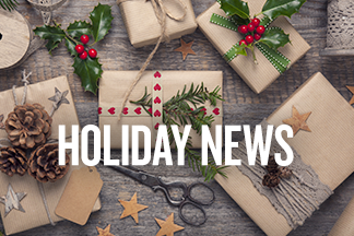 Holiday Newsroom home page promo