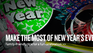 New Years Eve homepage banner