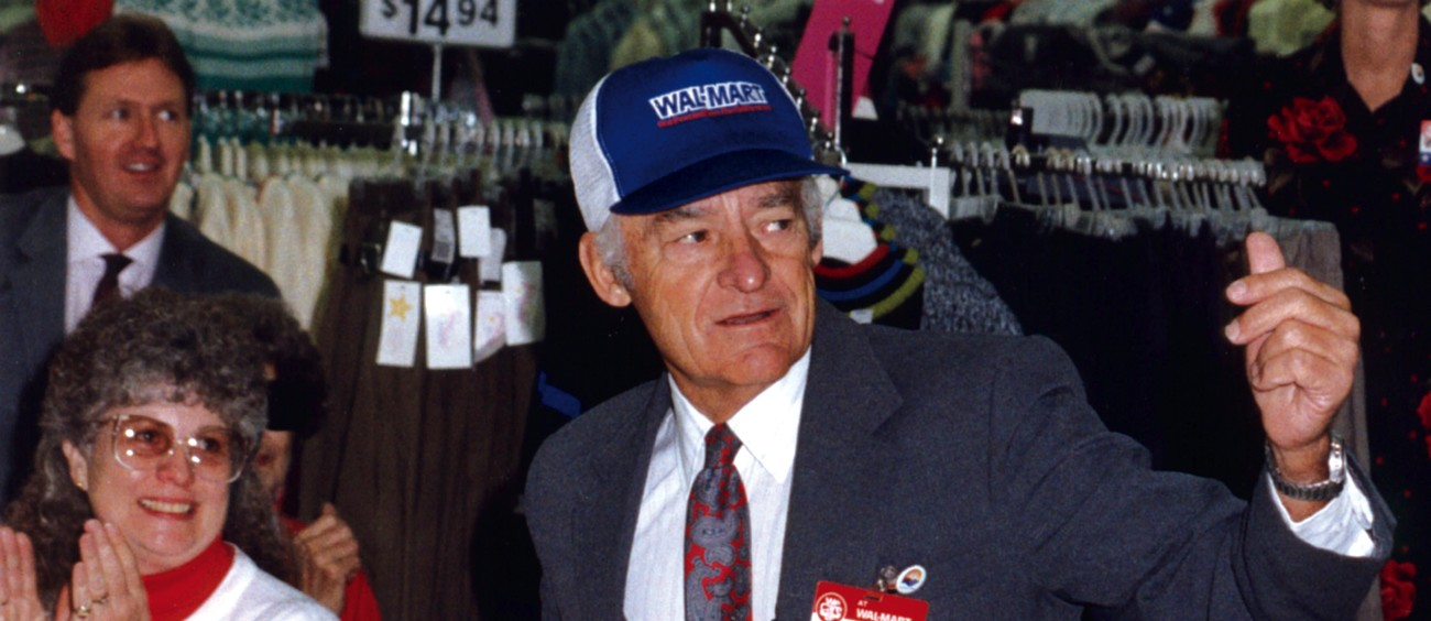 management and sam walton Sam walton who was hesam walton, the founder of wal-mart, grew up poor in a farm community in rural missouri during the great depression the po.