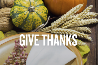 A Thanksgiving for Every Table homepage promo