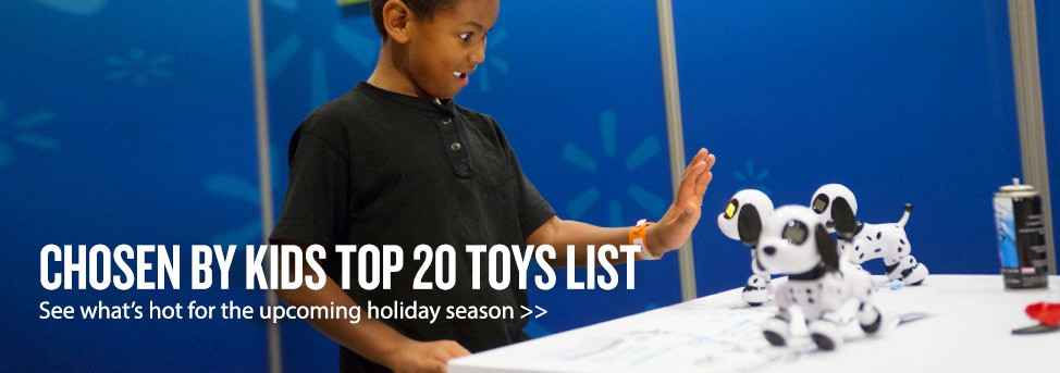 2014 Holiday Toys Homepage Banner