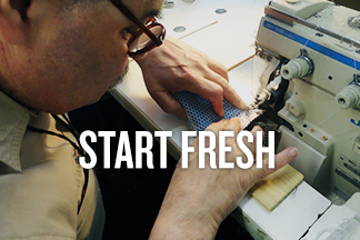 "Speedy Scrubber blog promo reads ""Start fresh"""