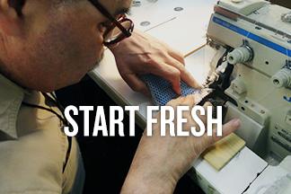 "Speedy Scrubber blog promo reads ""Start fresh"""