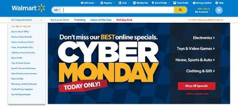 Walmart.com is ready for Cyber Monday