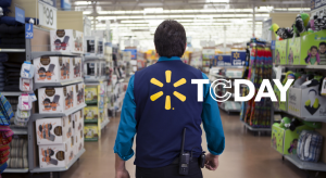 Associate with Spark Vest and Walmart Today logo