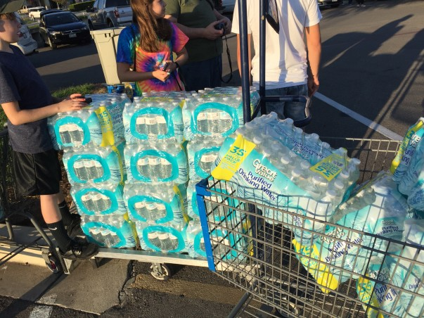 Hurricane Harvey Update, Helping Communities Hit Hardest, Water Donations