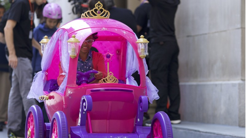 Princess Ride On Car Games
