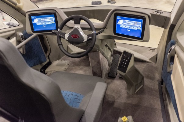 Walmart Advanced Vehicle Experience interior