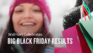 Big black friday results banner