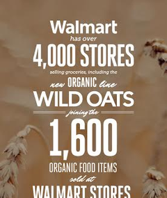 wild oats organic food products at walmart
