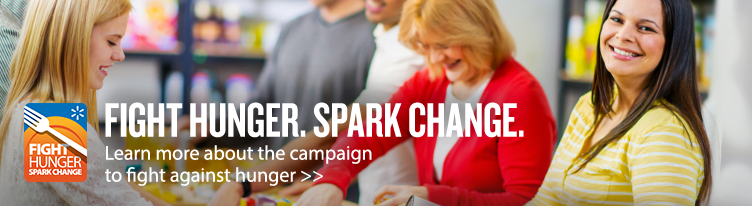 Fight Hunger. Spark Change hero banner