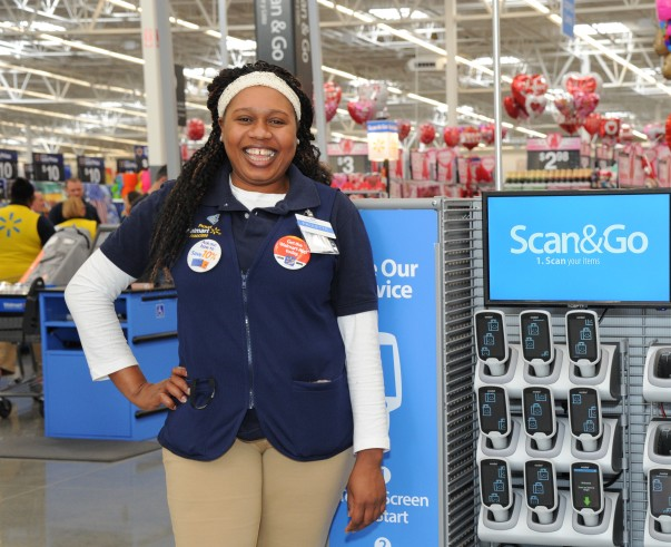 Walmart Supercenter reinvention test store Scan & Go