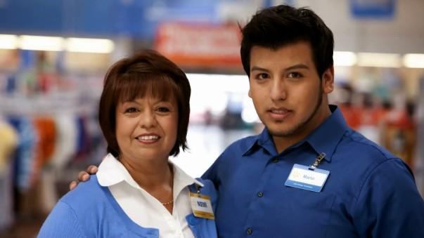 Associate Noemi Flores with son Mario
