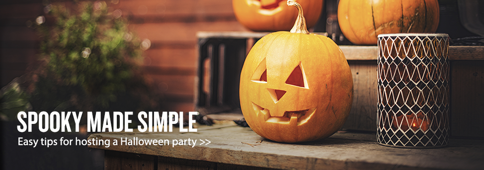 Halloween Homepage Banner