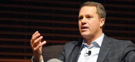 Doug McMillon On Stage at Stanford University_Feb 2015