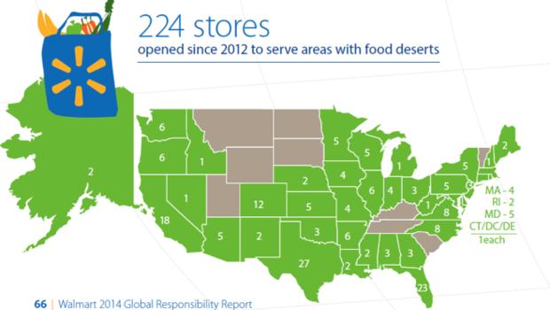 Food Desert Store Openings Map