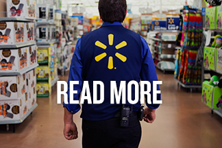 Introducing a Refreshed Look for the Walmart Blog. Text reads: Read More