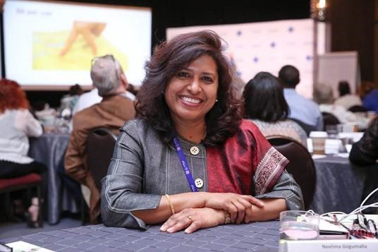 Neelima Gogumalla, owner of Creative Chef Kitchens