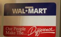 Vintage Walmart Nametag