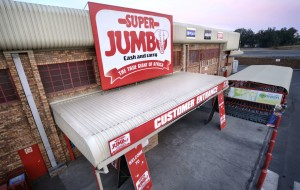 Super Jumbo Cash and Carry store exterior
