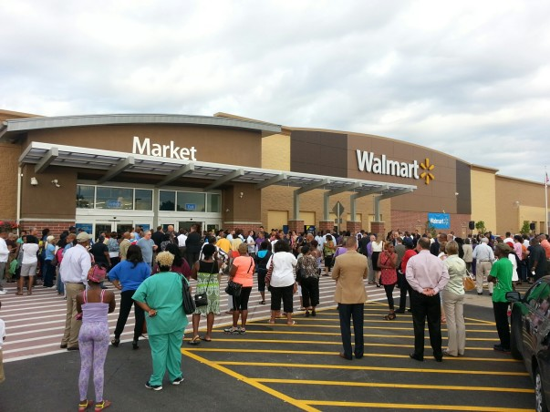 New Orleans Walmart Grand Re-Opening