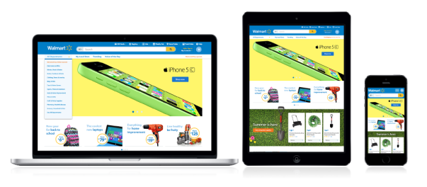 Website Redesign - Walmart_3 Screens