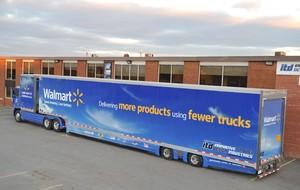 Canada supercube trailer truck