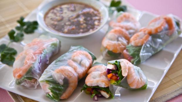Eat Healthy Together: Spring Roll